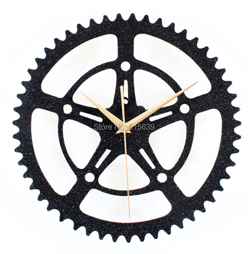 Gear Wall Decor gear wall clock promotion-shop for promotional gear wall clock on