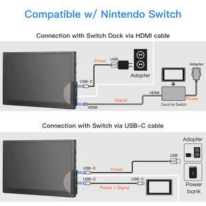 Image 4 - Eyoyo 8.9 inç taşınabilir USB C Mini monitör 1920x1200 IPS ekran, USB C ve HDMI Video girişi uyumlu MAC dizüstü bilgisayar