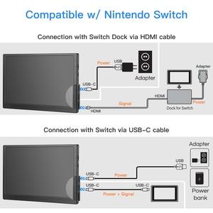 Image 4 - Eyoyo 8.9 inch Portable USB C Mini Monitor 1920x1200 IPS Display w/ USB C&HDMI Video Input compatible with MAC Laptop
