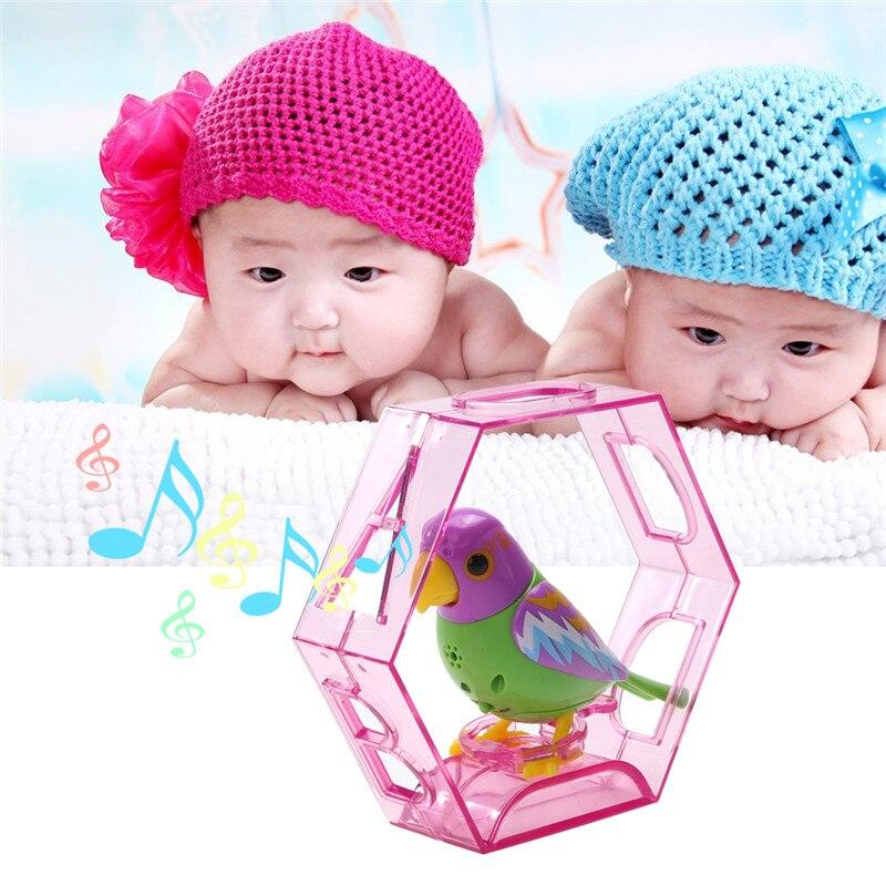 20 Песни Звук Пения Птиц Животные Петь Соло интеллектуальная Музыка Игрушки Digibirds Музыка Птица для Детей Дети Электрические Игрушки