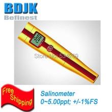0~5ppt Waterproof Pen Salinometer with Auto Temperature Compensation Salt Meters