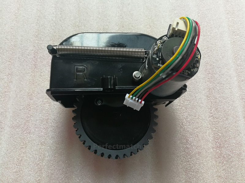 Original Right Motor wheel for chuwi ilife V50 robot Vacuum Cleaner Parts ILIFE wheel Motor replacement original left wheel with motor for robot vacuum cleaner ilife a6 ilife x623 robot vacuum cleaner parts wheel motor replacement