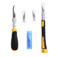 DIY Hobby Engraving Knife Set Precision Knife Cutter Tools Wood Paper Cut Sculptural Woodworking Hand Tools