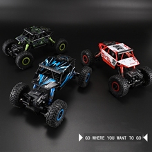 P1801 RC Car 2.4Ghz 1/18 Scale Remote Control toys 4 Wheel Drive Rock Climbing Crawler rc Car Remote Control Toys For Children