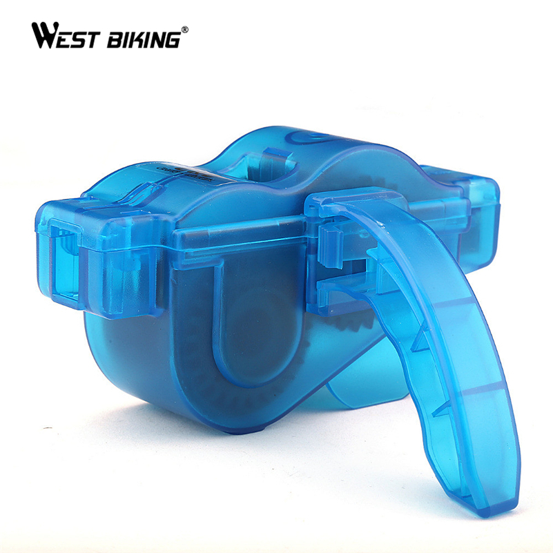 WEST BIKING Bicycle Tools Chain Cleaner Cycling Bike Repair Tools Kit Wash Machine Brushes Scrubber Chain Cleaner MTB Bike Tools