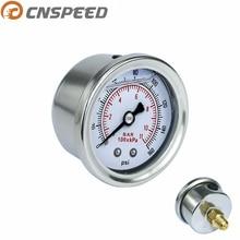 CNSPEED 0-160 фунтов на квадратный дюйм топлива Давление датчик жидкого масла Пресс датчик уровня топлива подходит с 1/8 NPT масляный бак для Honda YC100917
