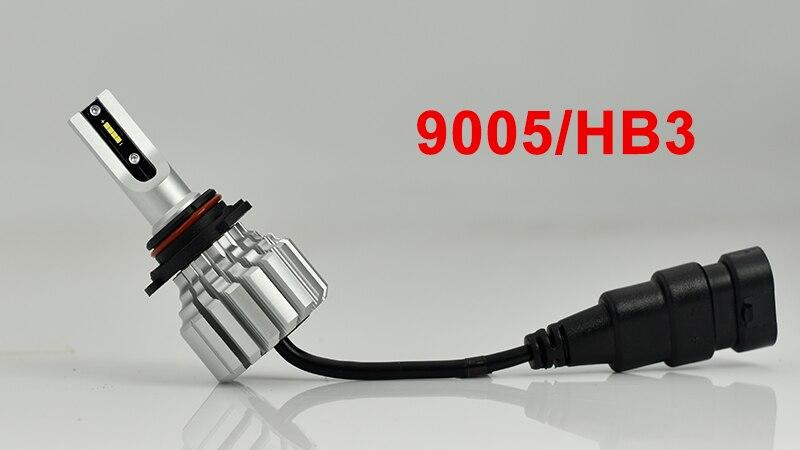 CNSUNNYLIGHT Car Front Fog Bulb LED Lights White H11 H8 9006 H1 H3 880 PSX24W PSX26W P13W H7 9005 5000Lm DC 12V Auto DRL Foglamp (7)