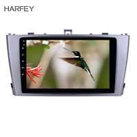 Harfey Android 8.1 GPS Navigation Radio for 2009 2013 Toyota AVENSIS with Bluetooth SWC support DVR USB 9 car multimedia player