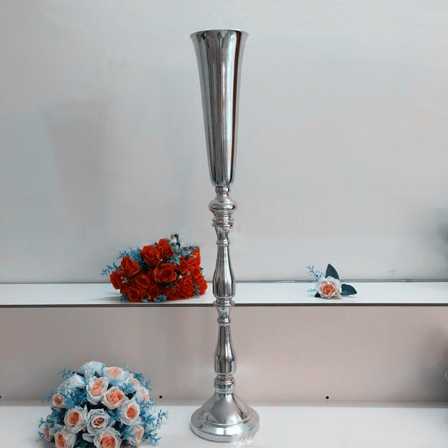 New Produce In Market Metal Candle Holder Stick Wedding Centerpiece Event Road Lead Flower