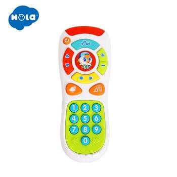 HOLA 3113 bebek oyuncakları Elektrikli Tıklayın ve geri Sayım Uzaktan ile Işık ve Müzik Çocuk Erken Öğrenme Eğitici Oyuncaklar Toddler Hediye