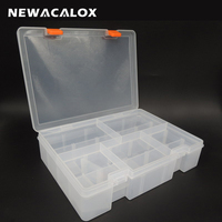 Multi Tiered Toolbox Water Proof Engineering Plastic Tool Box For Electronic Components SMD SMT Screw Screwdriver