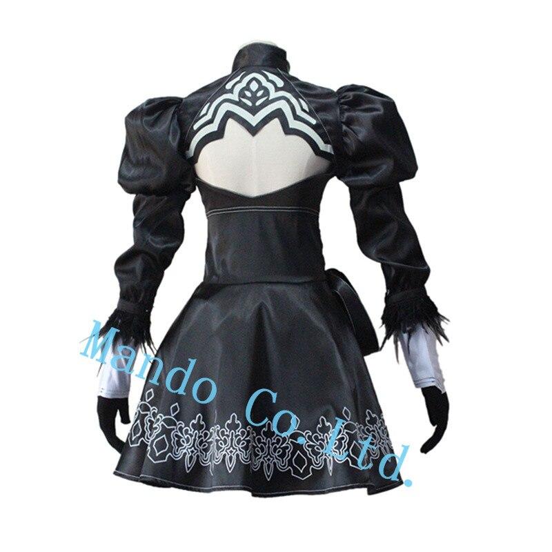 Anime NieR: Automata 2b Uniforme haljina Cosplay kostim halloween - Karnevalske kostime - Foto 3