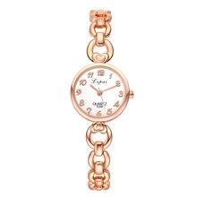 Fashion Crystal Round Watch Women Stainess Steel Girls Quartz Bracelet Ladies Watch horloges vrouwen bayan saat
