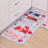 Newest 2PCS Set Home Floor Carpets Rugs Doormat Absorbent Anti Skid Floor Mat 50X80cm 50X120cm Rug