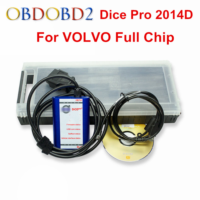 Factory Price For Volvo Dice Pro Diangostic Scanner 2014D Support Multi-Language Firmware Update & Self-Test For Volvo Vida Dice best car tuning version vida dice 2014d for professional diagnostic scanner multi language warranty quality and free ship