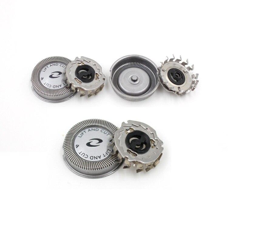 Головка сменная для бритвы Philips HQ2 HQ26 HQ282 HQ283 HS655 HQ2830 HS660 HQ2425 HQ220 HS250A, 3 шт.