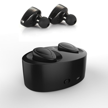 Twins Dual Mini Wireless Bluetooth Earphones Handsfree Earbuds for iPhone 6 6S 7 Plus Bluetooth earphone With Charger Box