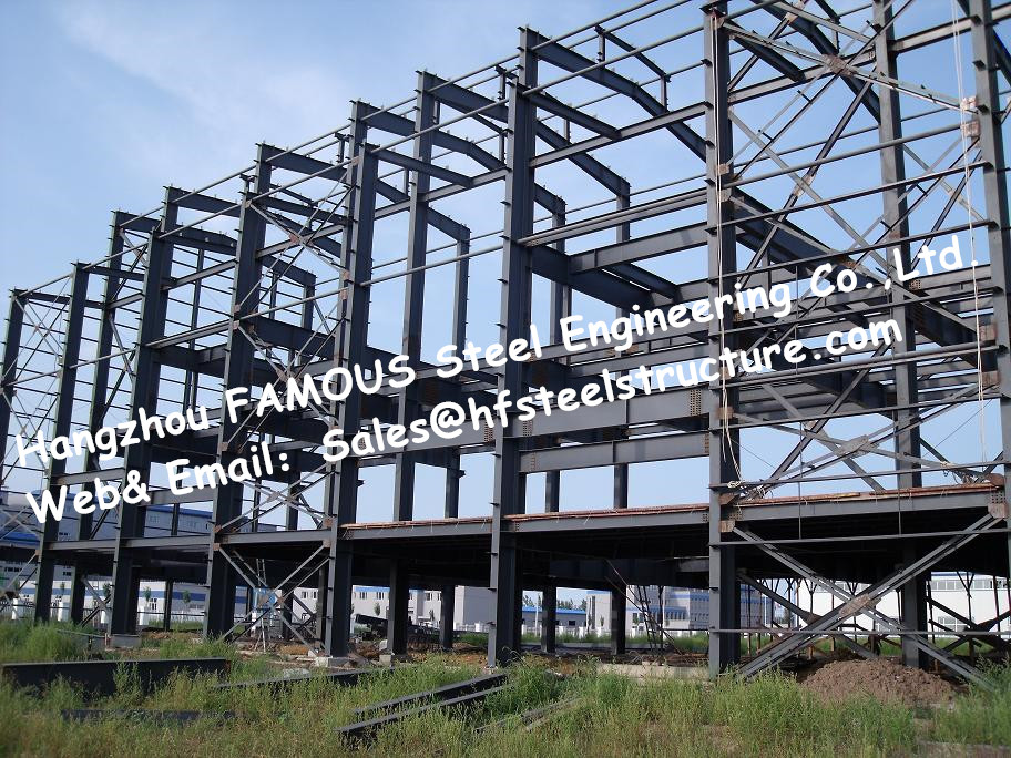 China suministro Q345 acero comercial edificios y estructura ...