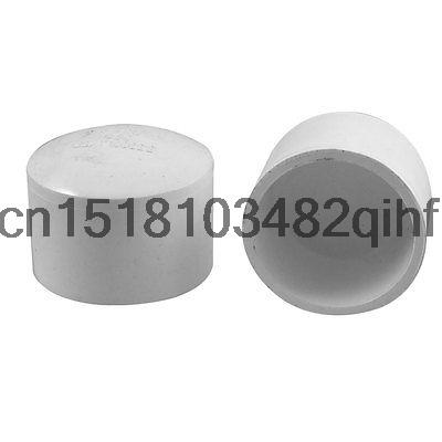 50mm White PVC Hose Tube End Fitting Adapter Caps 2 Pcs In Pipe Fittings From Home Improvement On Aliexpress