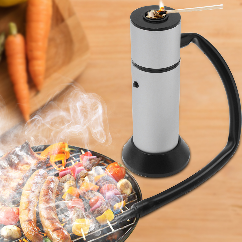 Cibo Freddo Generatore di Fumo Portatile Molecolare Cucina di Fumo Pistola Carne Fumatore Smokehouse Strumenti di Cottura per Barbecue Griglia Trucioli di Legno