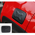 Gas Fuel Tank Cap Filler Door Trims Exterior Covers Aluminum Stainless Metal For Jeep Renegade 2014 2015 2016 car styling