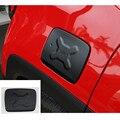 Gas tapa del tanque de combustible de relleno puerta recorta exteriores cubiertas de aluminio de metal inoxidable para jeep renegade 2014 2015 2016 car styling