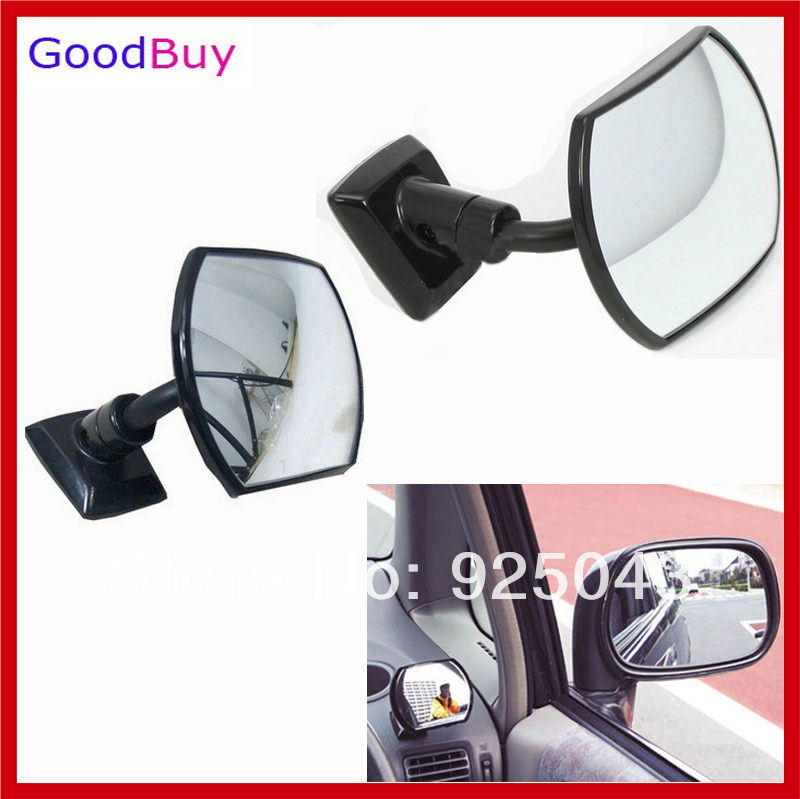 new universal car auto interior blind spot mirror wide angle rearview mirror enlarge back rear. Black Bedroom Furniture Sets. Home Design Ideas