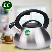 FREE SHIPPING Water Bottle kettle pot SS#304 stainless steel gas/induction cooker thickening honking teapot 3 litre