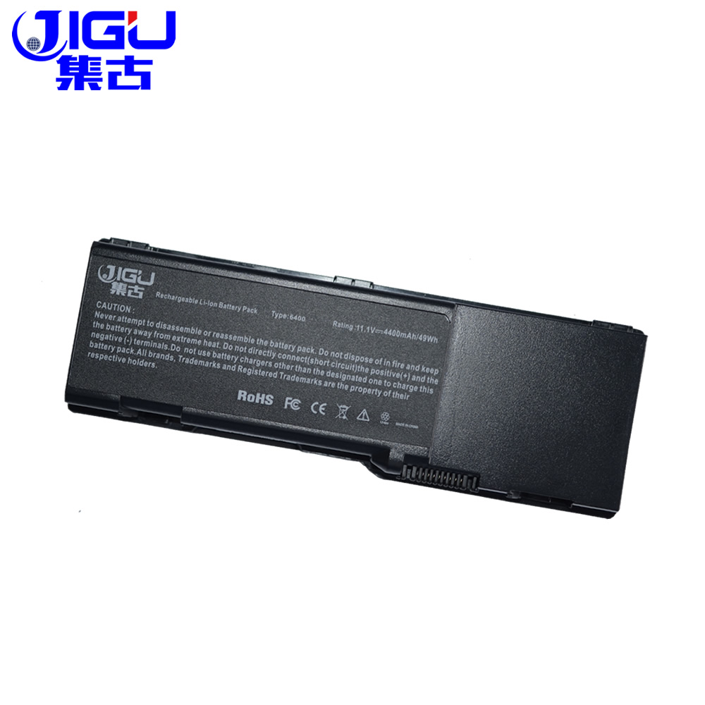 JIGU Replacement Laptop <font><b>Battery</b></font> For <font><b>Dell</b></font> <font><b>Inspiron</b></font> <font><b>1501</b></font> 6400 E1505 Latitude 131L Vostro 1000 312-0461 451-10338 RD859 GD761 UD267 image