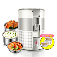 Lunch Electric Box Three tier Insulation Lunch Box Can Be Inserted Electric Heating Steam Box Small Rice Cooker Rice Cooker