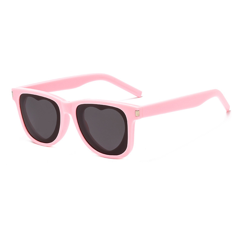New Arrived Unisex Square Frame Heart Sunglasses Rice Nail Vintage Fashion Women Eyeglasses Men Spectacles HD Sun Glasses H5 in Women 39 s Sunglasses from Apparel Accessories
