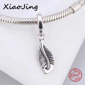 af8824b9f top 10 largest feather pendant fit women diy pandora bracelets brands