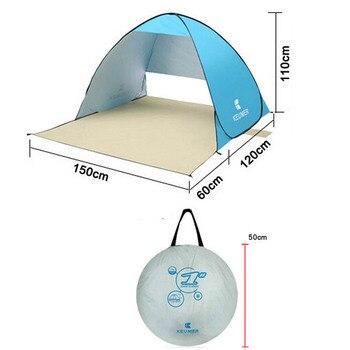 אוהל זולה פתוח מתקפל בקלות
