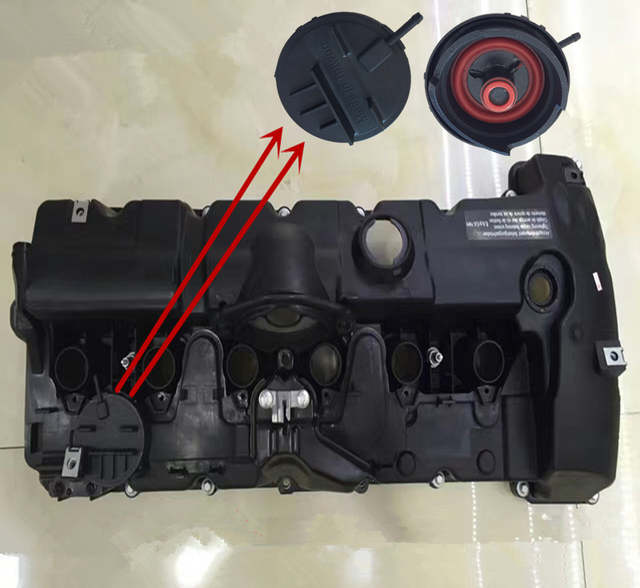 US $18 0 |Car valve cover repair kit N46 N20 E60 520 N52 N55 N62 E53 N12  N16 N13 N18 1 6Tb mwMINI Exhaust valve gasket rubber ring cover-in