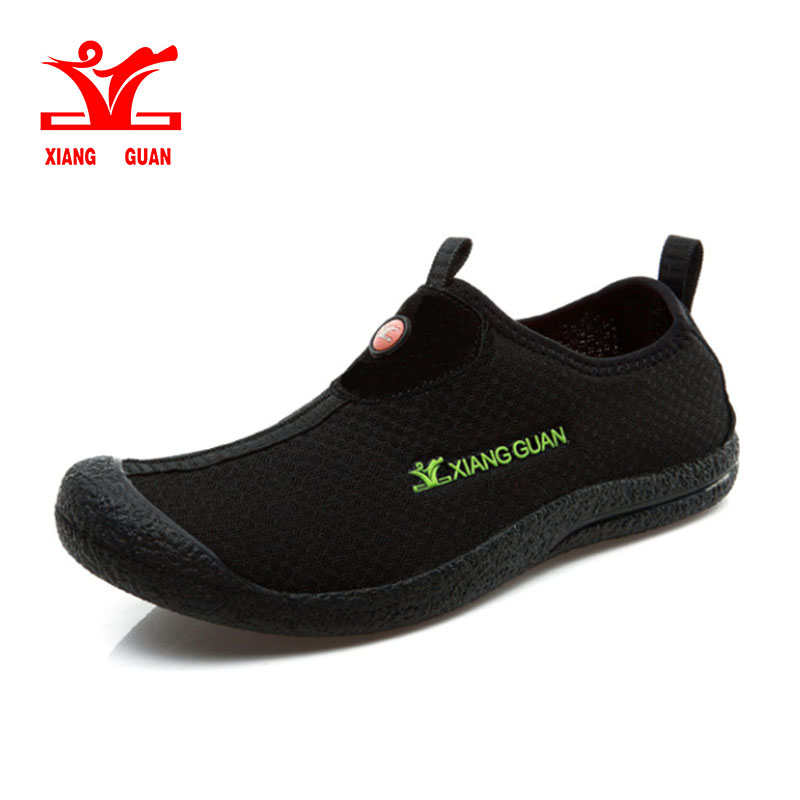 XIANG GUAN Running Shoes for Man Breathable Spring and Summer Outdoor Sneakers respirable Light Mesh cheap Trainer Sport Shoes