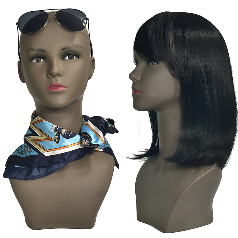 High Grade Female Dummy Mannequins Wig Head Wig Holder Mannequin Manikin Head With Makeup for Wig Hat Display