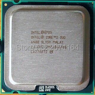 Бесплатная доставка для Intel Core 2 Duo E6400 2.13 Г 65 нм настольных компьютерных ПРОЦЕССОРЫ