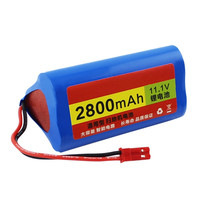11 1V 2800mAh Robotics Vacuum Cleaner Battery Replacement Parts For Chuwi Ilife Chuwi Ilife V3 V5