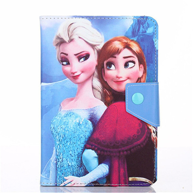 10 inch Universal Tablet Elsa Cartoon Case PU Leather Case Cover For Lenovo TAB 2 X30 X30F X30M A10-30 A10-70F a10 70 10.1