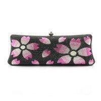 2017 Luxury Evening Clutch Bags Handcraft Crystal Clutch Purse Diamante Women Party Evening Bags Handbag 1026