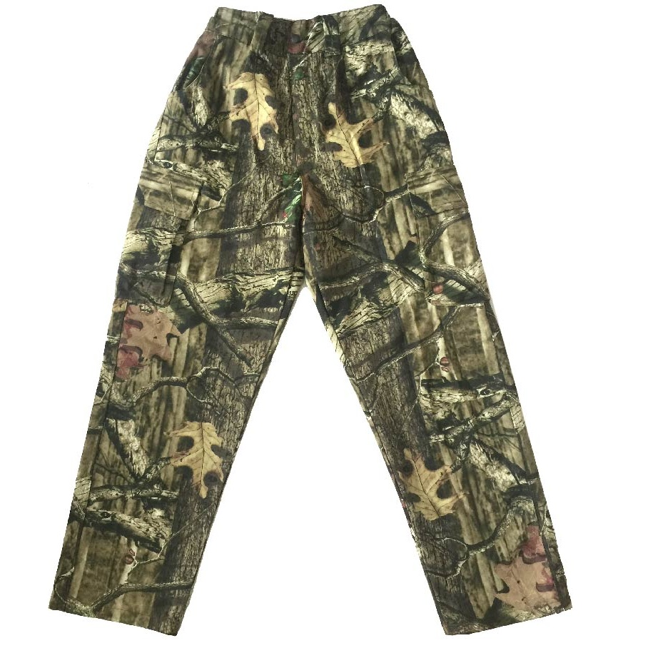 Mens Summer Hunting Pants Cotton Breathable Thin Large Size Camouflage Fishing Bionic Camouflage Trousers 1