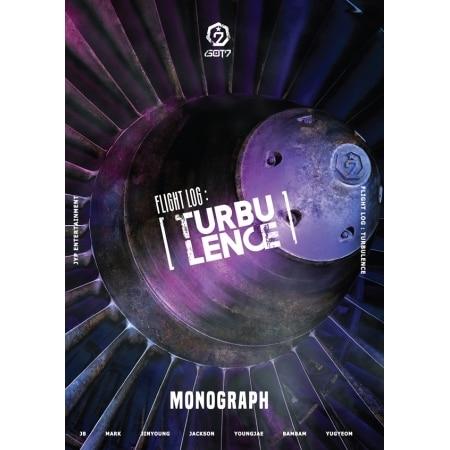 GOT7 - FLIGHT LOG: TURBULENCE MONOGRAPH Release Date 2017.02.24 [pcmos] 2017 new kpop got7 necklace titanium steel jackson jb youngjae bambam mark flight log fly free shipping 16051420