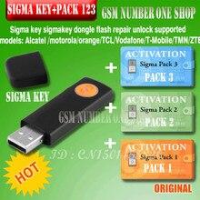 100% original sigma chave com pack1.2.3 ativado completo sigmakey dongle para alcatel alcatel huawei flash reparação desbloquear