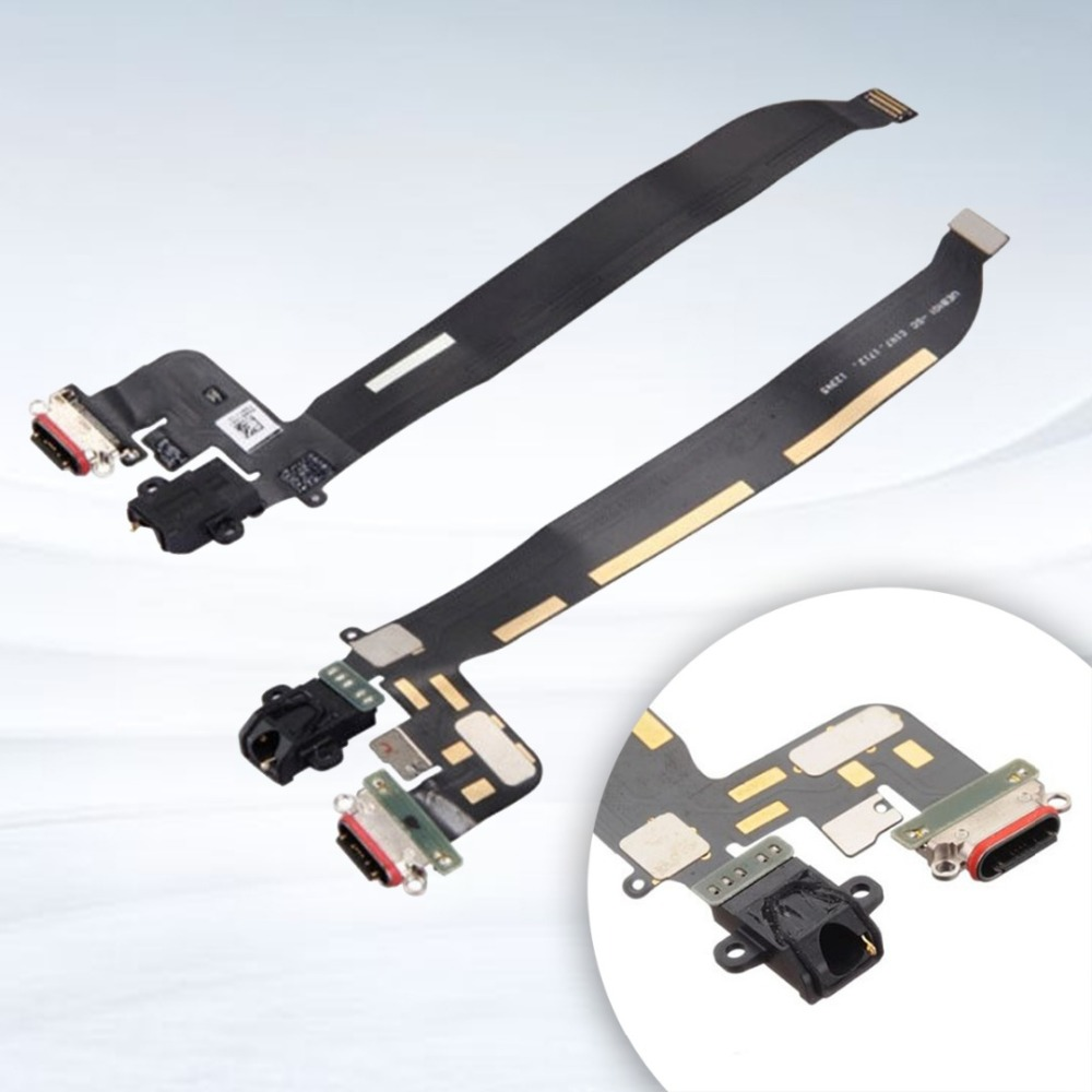 USB Charging Port Flex Cable Parts For OnePlus 5 Replacement USB Charging Charger Port Dock Connector Flex Cable For OnePlus 5