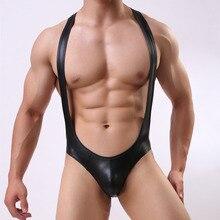 4dab4471c جديد بارد مثير الرجال الملابس الداخلية سراويل الرجال تسخير واحدة قطعة  الجوارب غاي الملابس كمال الاجسام