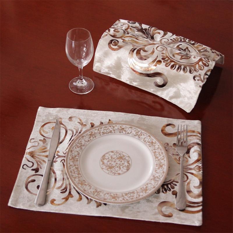 unidsset absorcin de manteles de comedor mantel pvc moderna cocina manteles posavasos de