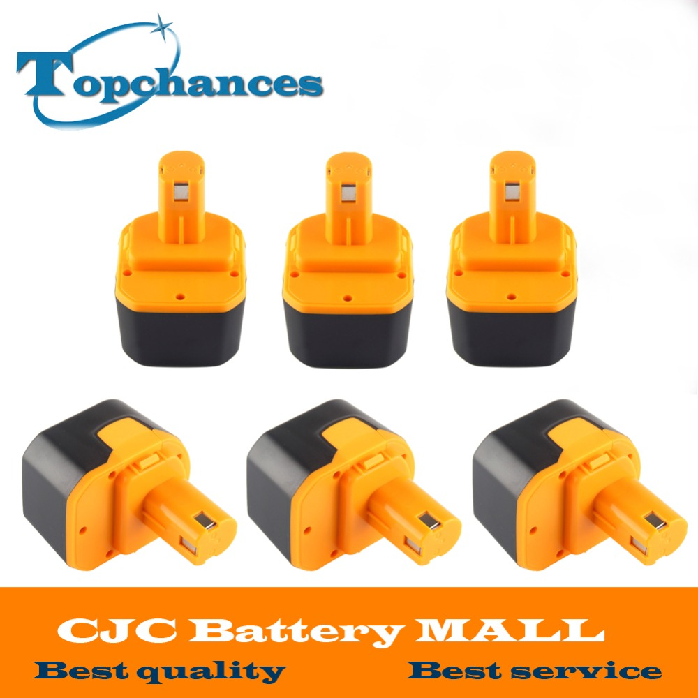6X Newest 12V 2000mAh Ni CD Rechargeable font b Power b font font b Tool b
