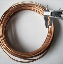 3Meters/lot  Outer Diameter:6mm Thickness:1mm Flexible Copper Tube Air Conditioner Copper Tube Pipe