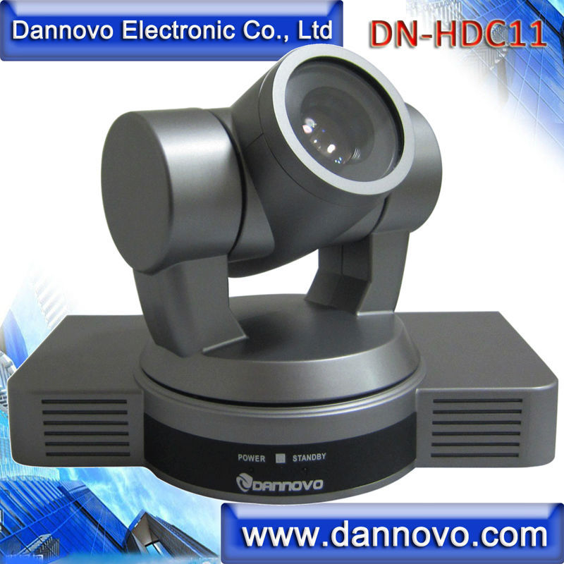 Free Shipping DANNOVO Desktop Video Conference Camera 1080P/60  10x Optical Zoom  HD SDI HDMI Ypbpr AV Video Output(DN HDC11) Conference System Computer & Office - title=