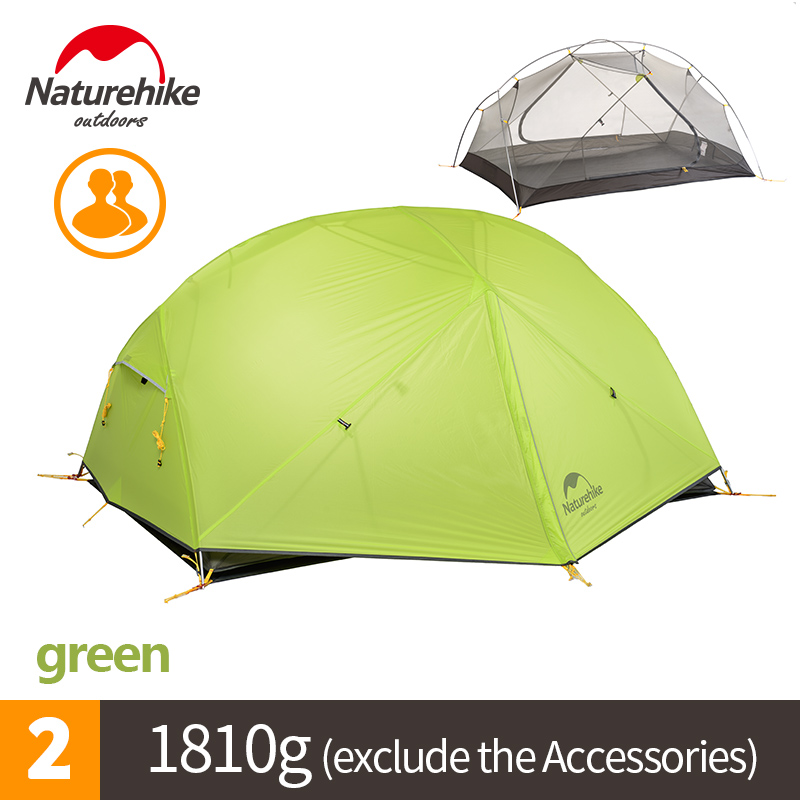 Naturehike Factory Store DHL free shipping Mongar 2 Camping Tent Double Layers 2 Person Waterproof Ultralight Dome Tent naturehike factory sell mongar 2 camping tent double layers 2 person waterproof ultralight dome tent dhl free shipping